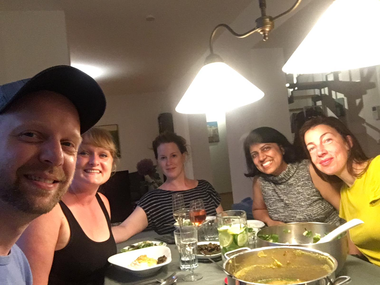 Priti_Bonding over Indian food with past fellows and colleagues at Kolner Stadt-Anzeiger.jpg
